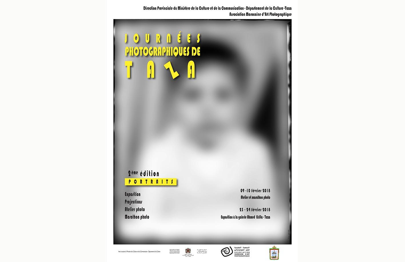 Affiche de la deuxième édition des Journées Photographiques de Taza